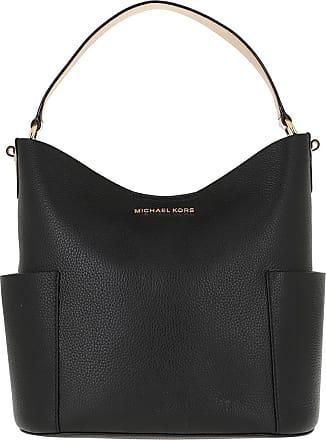 Michael Kors Bedford MD Bucket Shoulder Bag Black Hobo Bag schwarz