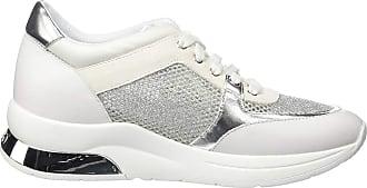 Liu Jo Womens Karlie 12-Sneaker Low-Top, White (White 01111), 8 UK