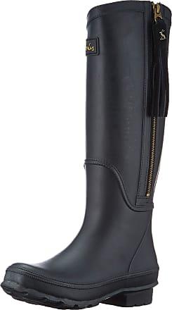 Joules Womens Collette Wellington Boots, Black (True Black), 7 UK (40/41 EU)