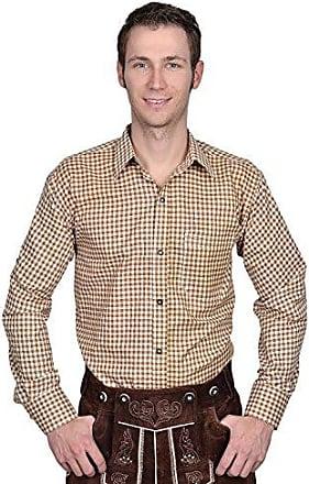 cc7272504f4b20 Edelnice Trachtenmode Herren Trachtenhemd Uni oder kariert, mit Stickerei,  viele Verschiedene Modelle Gr.