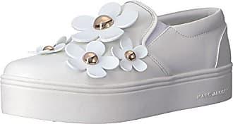 Marc Jacobs Womens Daisy Slip On Sneaker, White, 35 M EU (5 US)