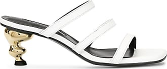Yuul Yie sculptured heel strappy sandals - Branco