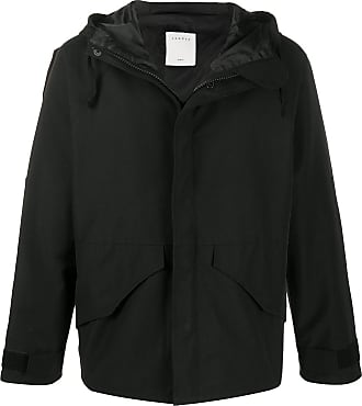 Sandro hooded zipped jacket - Black