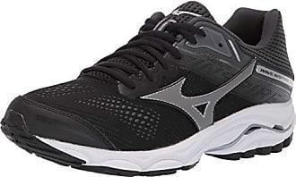 c211cb7b8772 Mizuno Womens Wave Inspire 15 Running Shoe, Black-Dark Shadow, 9.5 W US