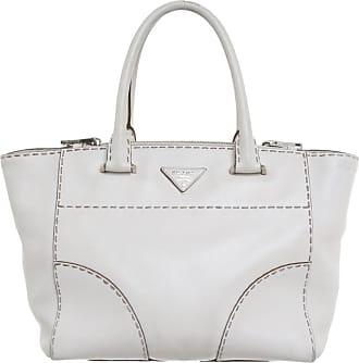 a2c5dba75030a Prada gebraucht - Handtasche aus Leder in Creme - Damen - Leder