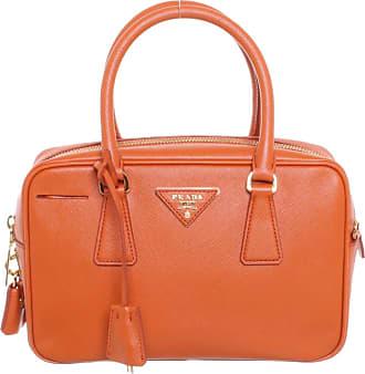 b4342e4c6af2c Prada gebraucht - Handtasche aus Leder in Orange - Damen - Leder