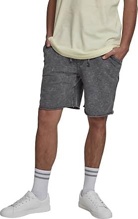 Urban Classics Mens Vinage Terry Shorts, Grey (Grey 00111), L