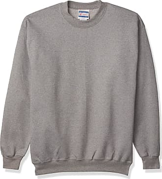 Hanes Mens Ultimate Cotton Sweatshirt, Oxford Gray, Medium