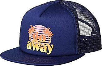 eeee6462 Neff Mens Orphan Mesh Trucker Hat-Flat Billed Adjustable, Navy, One Size
