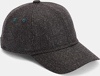 Ted Baker Textured Baseball Cap in Grey HURST, Mens Accessories