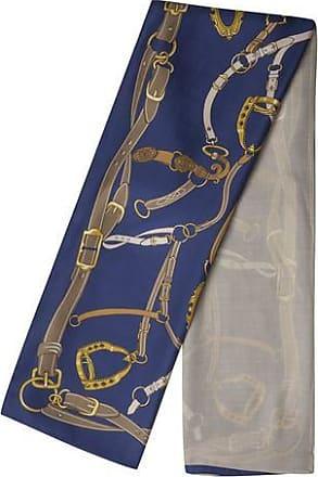 Codello XL-sjaal Forever Blue van zijde en modal
