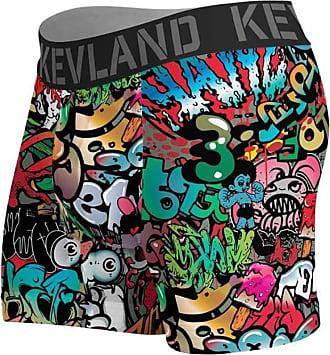 Kevland Underwear Cueca Kevland Boxer Grafite de Muro KEV108 GG