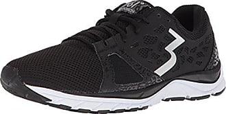 361° Mens 361-POISION Running Shoe, Black/White_0900, 9.5 M US