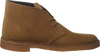 Clarks Desert Boot, MenS Derby, Braun (Cola Suede), 7 Uk