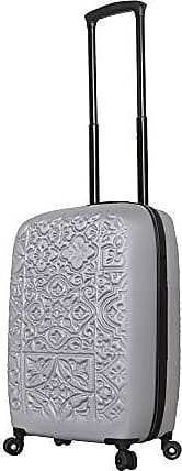 Multi Mia Toro Italy Hamsa Love Multicolor Hard Side Spinner Luggage 20 Carry-on