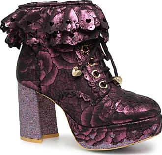 3ef90ee1f11f9f Irregular Choice FRILLY KNICKERS - Stiefeletten   Boots für Damen   rosa