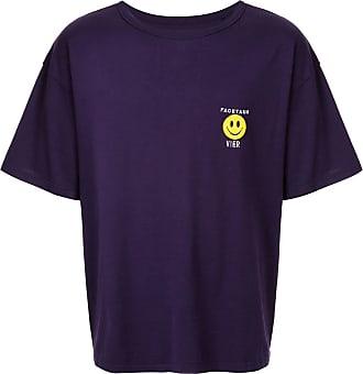 Facetasm Camiseta com estampa gráfica - Roxo