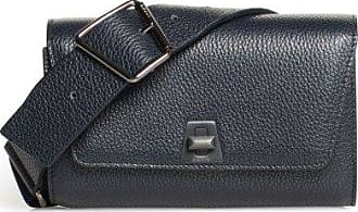 MQaccessories Small Belt Bag in Cervo Leather with Adjustable Double Handle