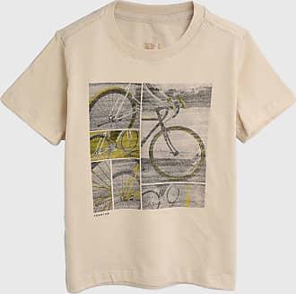 Reserva Mini Camiseta Reserva Mini Infantil Bike Bege