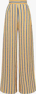 Three Graces London Filippa Trousers in Stripe