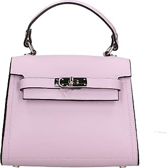 Chicca Borse Handbag in genuine leather made in Italy - 18x23x12 Cm
