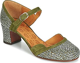 0412c77e670528 Versand  kostenlos. Chie Mihara TROMPETA Sandalen Sandaletten Damen Grün -  41 - Sandalen Sandaletten