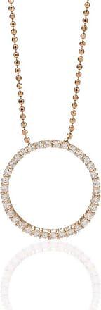 Sif Jakobs Jewellery Anhänger Biella Grande - 18K rosé vergoldet mit weißen Zirkonia