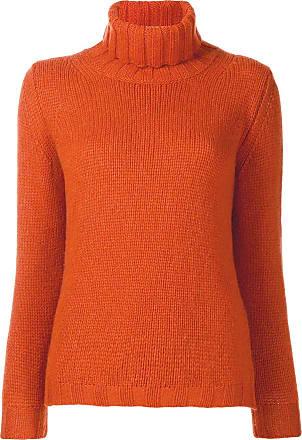Incentive! Cashmere turtleneck jumper - Laranja