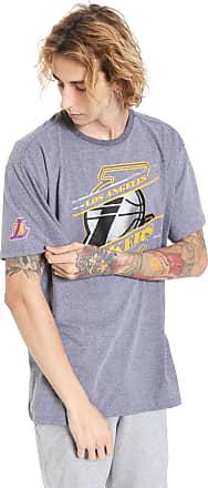 NBA Camiseta NBA Los Angeles Lakers Cinza