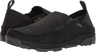Olukai Nai WP (Black/Black) Mens Shoes