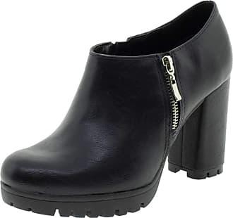 Via Marte Bota Feminina Ankle Boot Via Marte - 192502 Preto 35