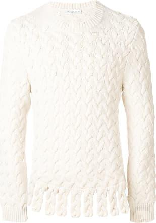 J.W.Anderson fringe chunky jumper - White