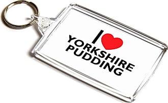 ILoveGifts KEYRING - I Love Yorkshire Pudding - Novelty Food & Drink Gift