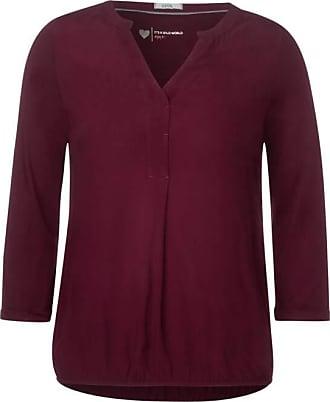 Cecil Shirt im Tunika-Style - jostaberry red