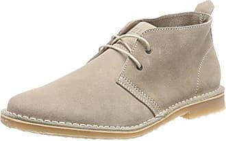 e499597403beba Jack   Jones Herren JFWGOBI Suede Sand Desert Boots Grau