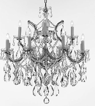 Gallery T22-2557 Maria Theresa 13 Light 28 Wide Crystal Chandelier