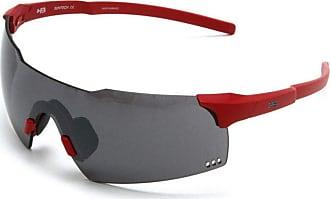 HB Óculos de Sol Hb Quad V Matte Fire | Silver