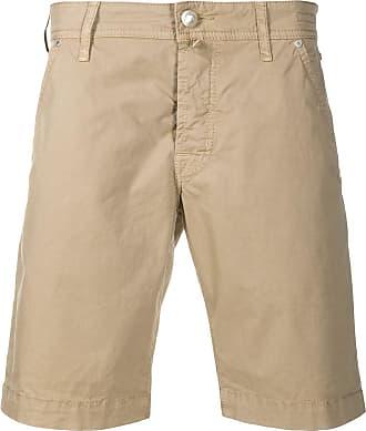 Jacob Cohen Light beige cotton bermuda shorts