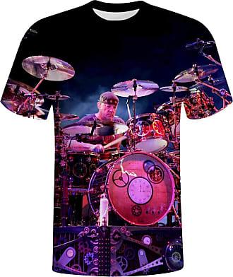 Not Applicable Clothing Neil P-eart T-Shirts Mens 3D Print T-Shirt Short Sleeve XXL White