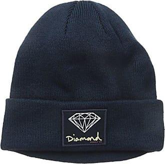 Diamond Supply Company Mens Og Sign Beanie, Navy, One-Size