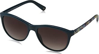 Joules Womens Filey Sunglasses, Teal/Grey, 55