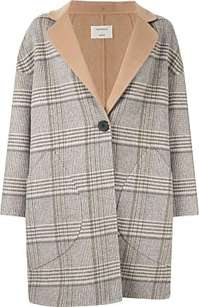 Onefifteen checked coat - Grey