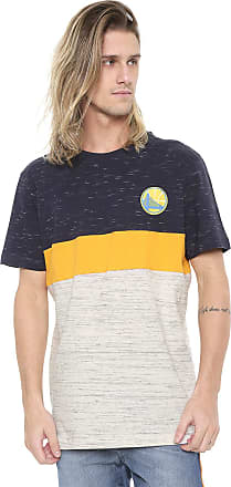NBA Camiseta NBA Golden State Warriors Amarela/Azul-marinho