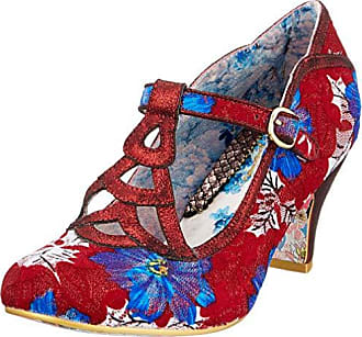 4a5ae43a2ecb0a Irregular Choice Nicely Done, Escarpins Salomé Femme, Rouge (Red Multi W),