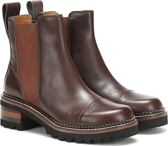 See By Chloé Mallory leather ankle boots