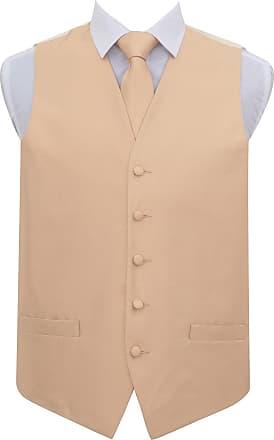 DQT Plain Solid Check Dark Green Boys Wedding Waistcoat /& Cravat Set