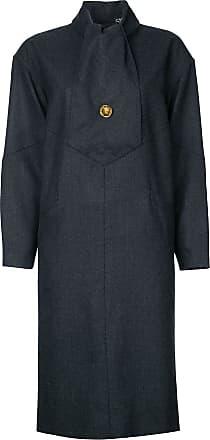 Chanel long sleeve one-piece coat - Grey