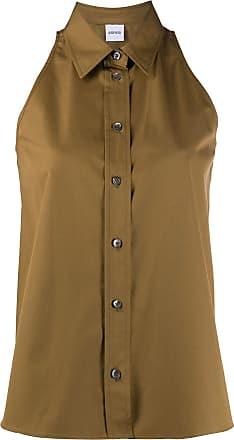 Aspesi Camisa com detalhe de recorte vazado - Verde