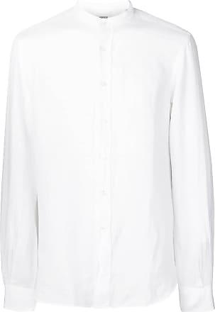 Aspesi Camisa decote arredondado - Branco