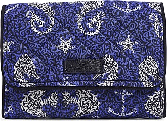 Vera Bradley Womens Iconic Signature Cotton RFID Riley Compact Wallet, Seahorse of Course, One Size